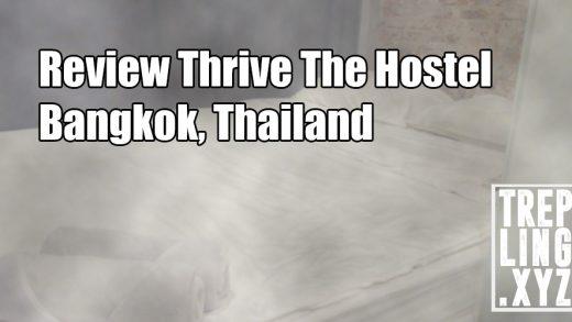 Review Thrive The Hostel, Bangkok, Thailand