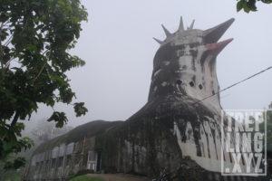 Keseluruhan bangunan rumah doa