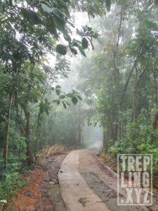 Jalan menuju Bukit Rhema
