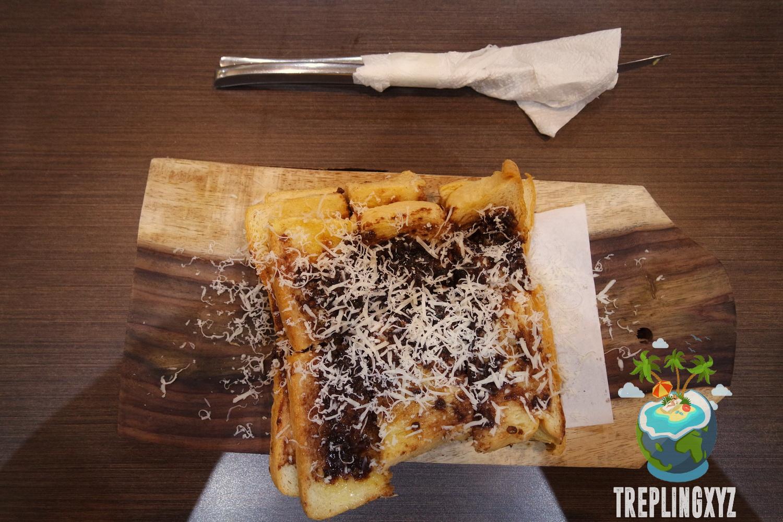 Roti Bakar + Ovomaltine + Cheese