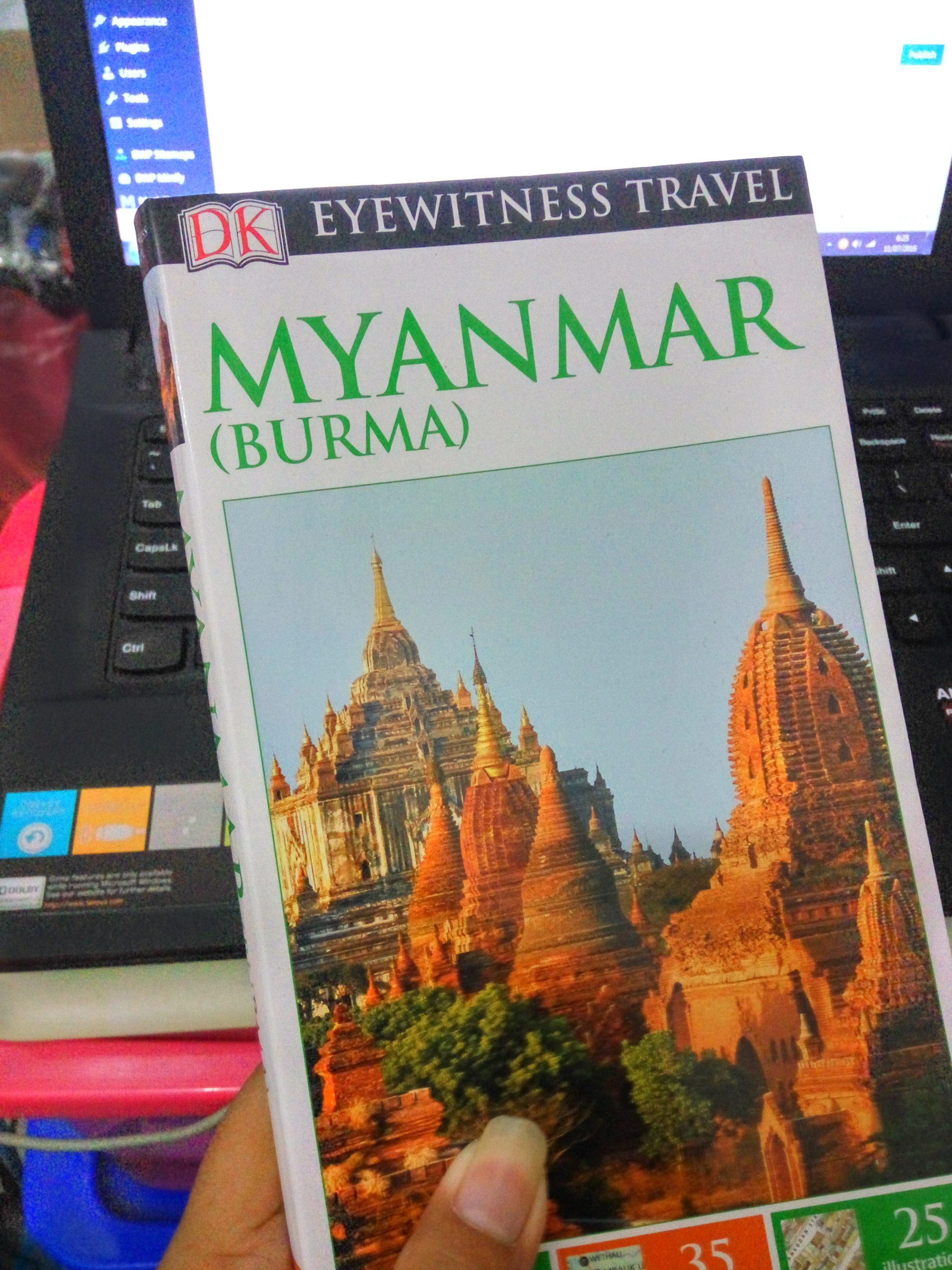 Buku Myanmar (Eyewitness Travel)