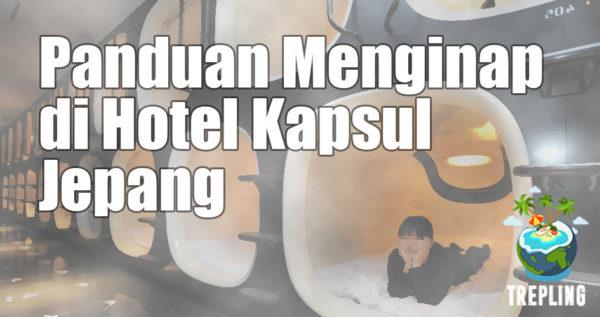 Tata Cara Menginap di Hotel Kapsul Jepang