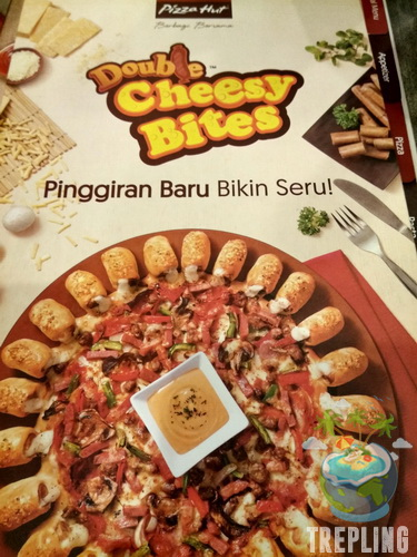 Double Cheesy Bites - Sensasi Pinggiran Pizza Dengan Keju Ganda di Pizza Hut