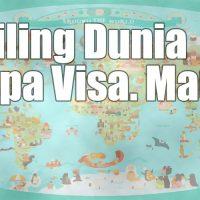 daftar negara bebas visa