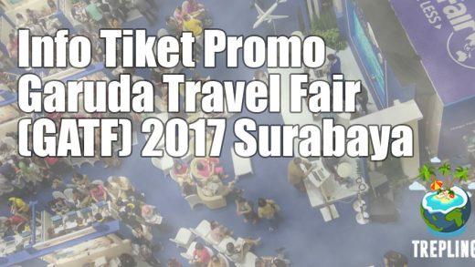 garuda travel fair surabaya 2017