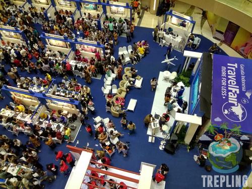Info Tiket Promo Garuda Travel Fair 2017 di Surabaya