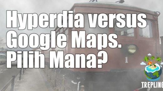 Mau Ke Jepang? Hindari Hyperdia, Gunakan Google Maps!