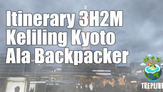 itinerary kyoto backpacker
