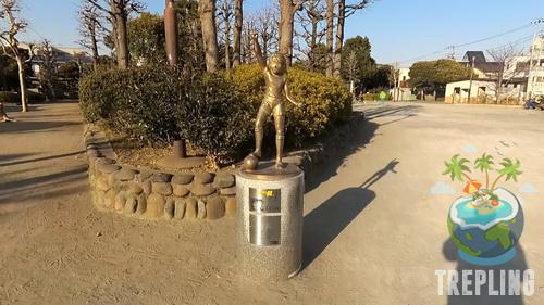 kojiro hyuga statue 3
