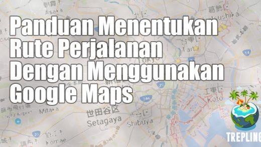 panduan google maps