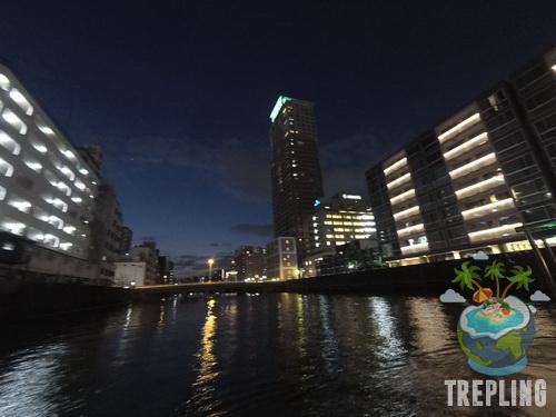 tonbori river cruise night view
