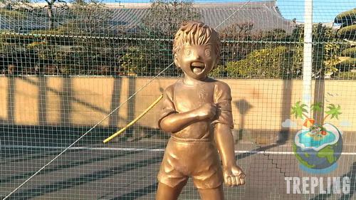 tsubasa ozora statue 2