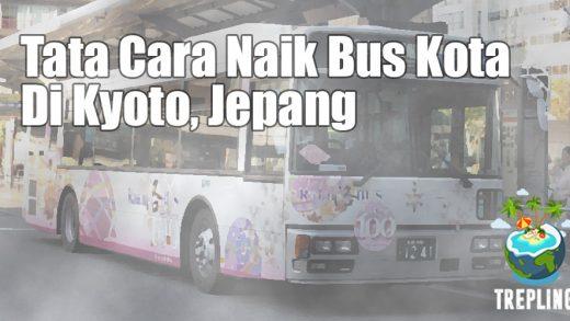 tatacara naik bus kyoto