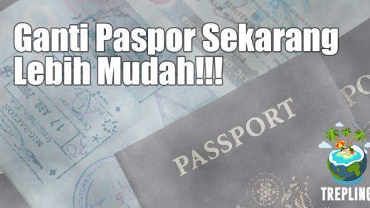 prosedur ganti paspor 2017